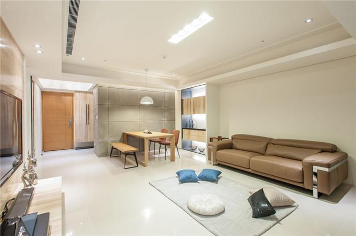 敞开式别墅客厅设计