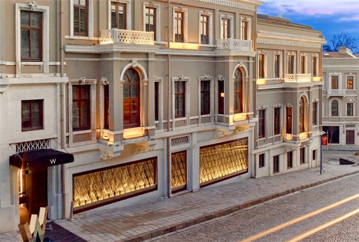 酒店局部外观设计