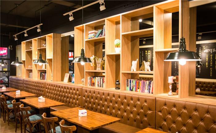 工业风格特色餐厅设计效果图