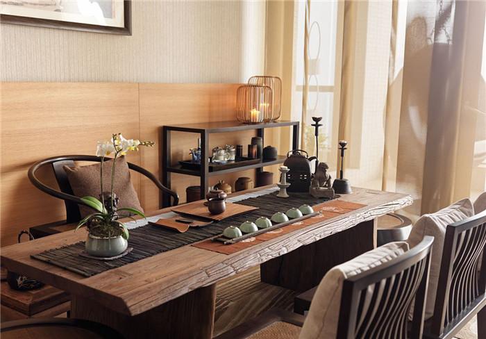 中式禅意私人会所茶室设计图