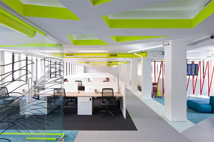 摩登时尚 伦敦co-work联合办公室装修设计案例