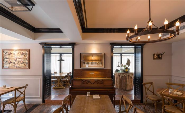 古典风格餐厅装修设计案例