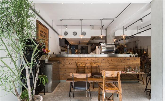 咖啡厅吧台设计效果图