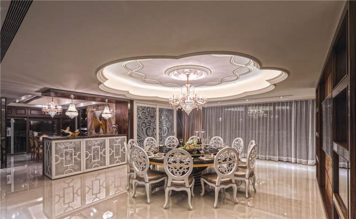 别墅餐厅设计效果图