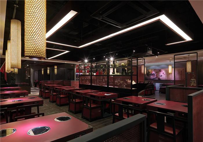 苏州特色火锅店设计 三国文化主题餐厅设计说明