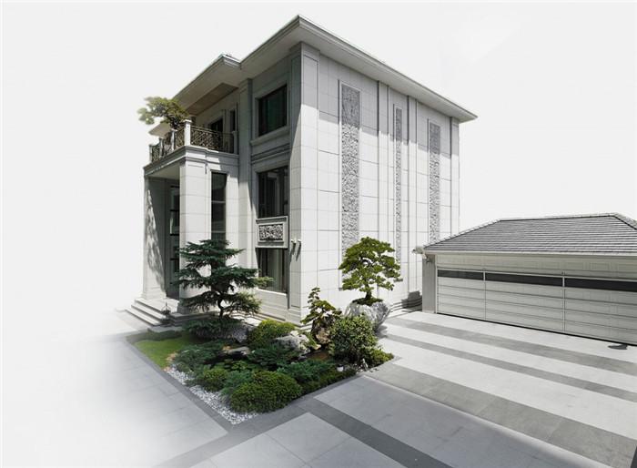 台北三层独栋别墅设计案例 描绘简约美式别墅设计生活