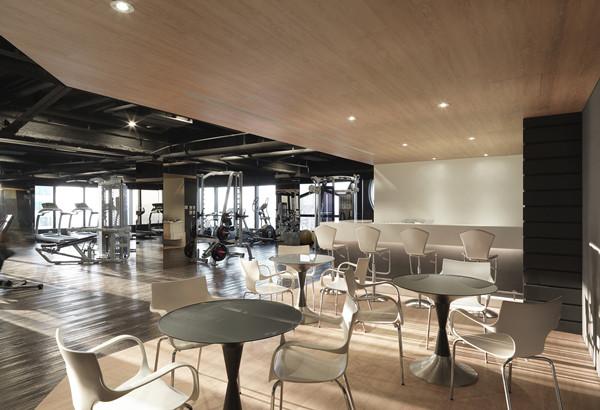 郑州健身会所设计公司推荐现代简约风健身房设计方案