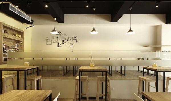 小清新风格咖啡厅设计方案