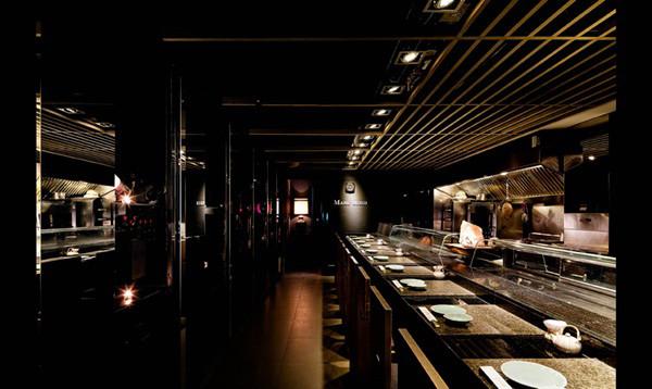 寿司吧台装修效果图