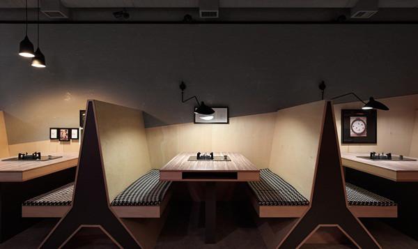 郑州专业餐厅设计公司分享现代时尚工业风火锅店设计案例