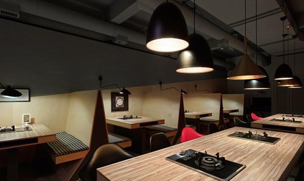 郑州专业餐厅设计公司分享现代时尚工业风火锅店设计
