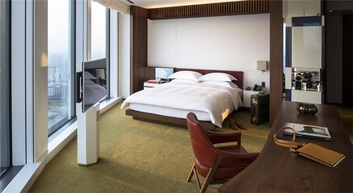 东京安达仕酒店客房空间设计欣赏