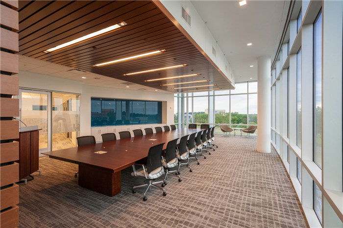 现代精品办公空间 国外环保办公室装修设计案例