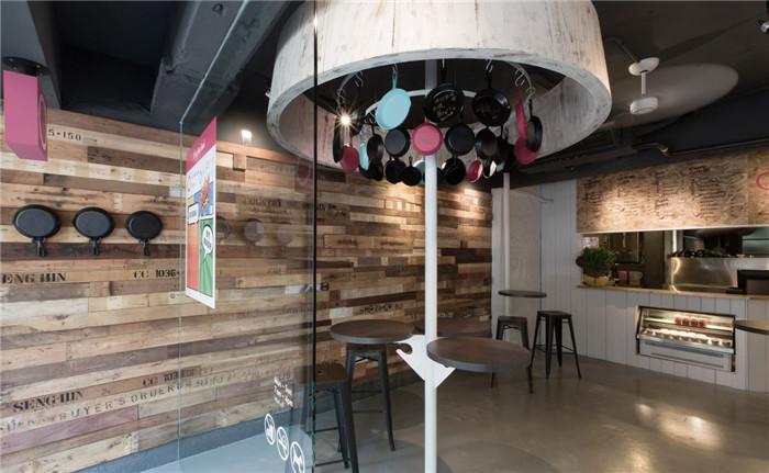 郑州勃朗餐饮设计公司专家分享特色小型餐饮店面设计