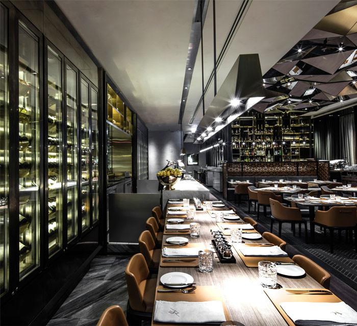 时尚西餐厅设计 porterhouse by laris牛排餐厅设计案例