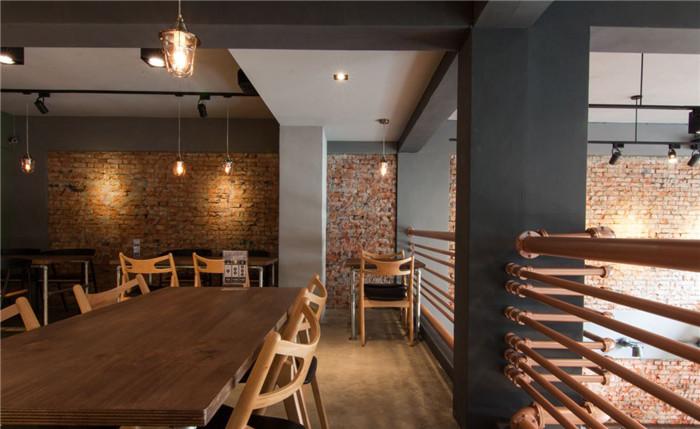 loft工業風家庭烘焙親子主題餐廳設計案例賞析