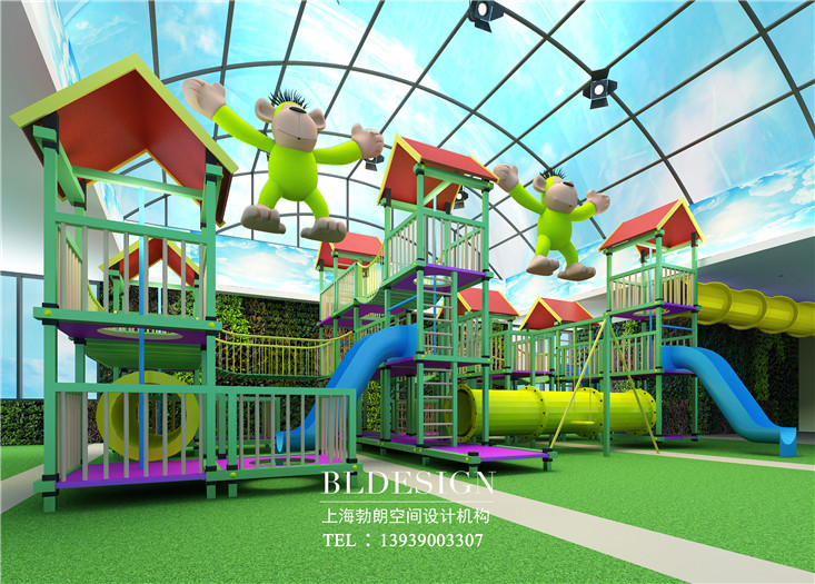 郑州维拉米特彩虹岛主题儿童游乐场设计说明