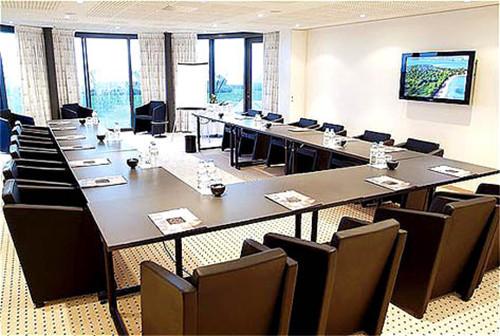 国外温泉酒店设计案例:会议室