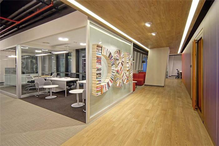知名办公室设计公司分享d&r开放式企业办公室装修