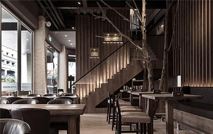 工业风格餐饮空间设计案例