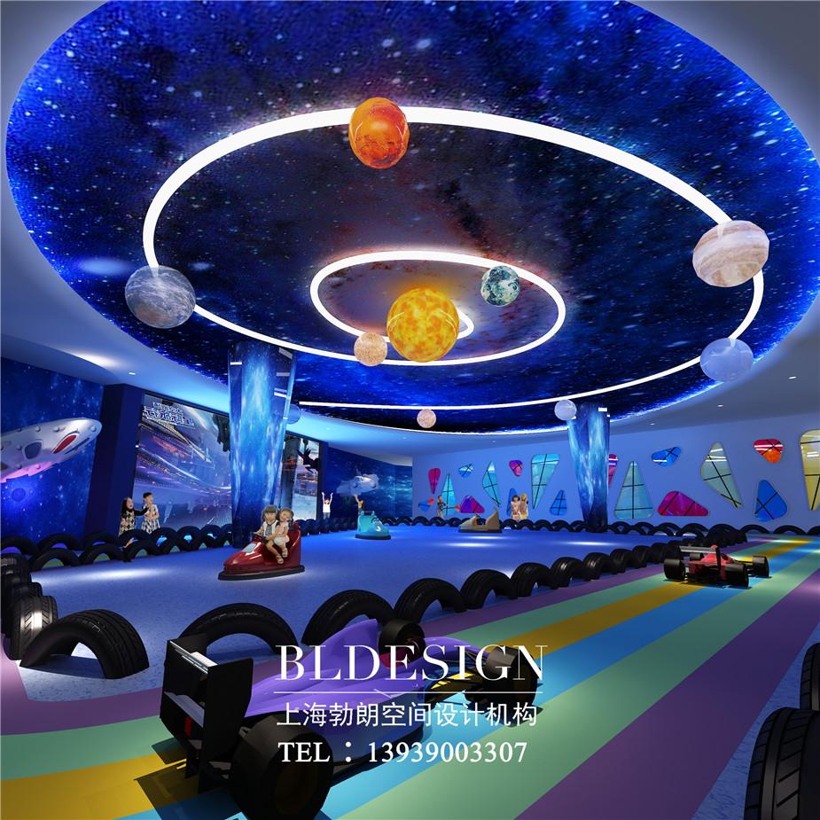 郑州首家主题儿童乐园设计 儿童室内游乐场设计刮起魔幻科技风