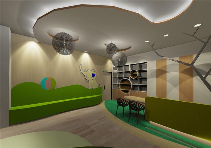 森林主题乐园小象幼儿园设计-勃朗专业幼儿园设计公司