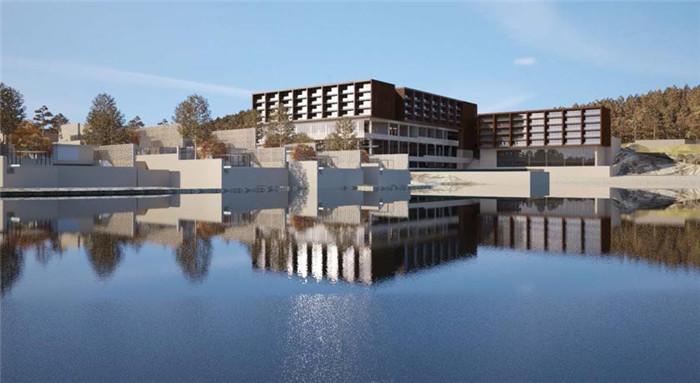 下面,就同勃朗酒店设计公司小编一起走近这个酒店建筑吧.