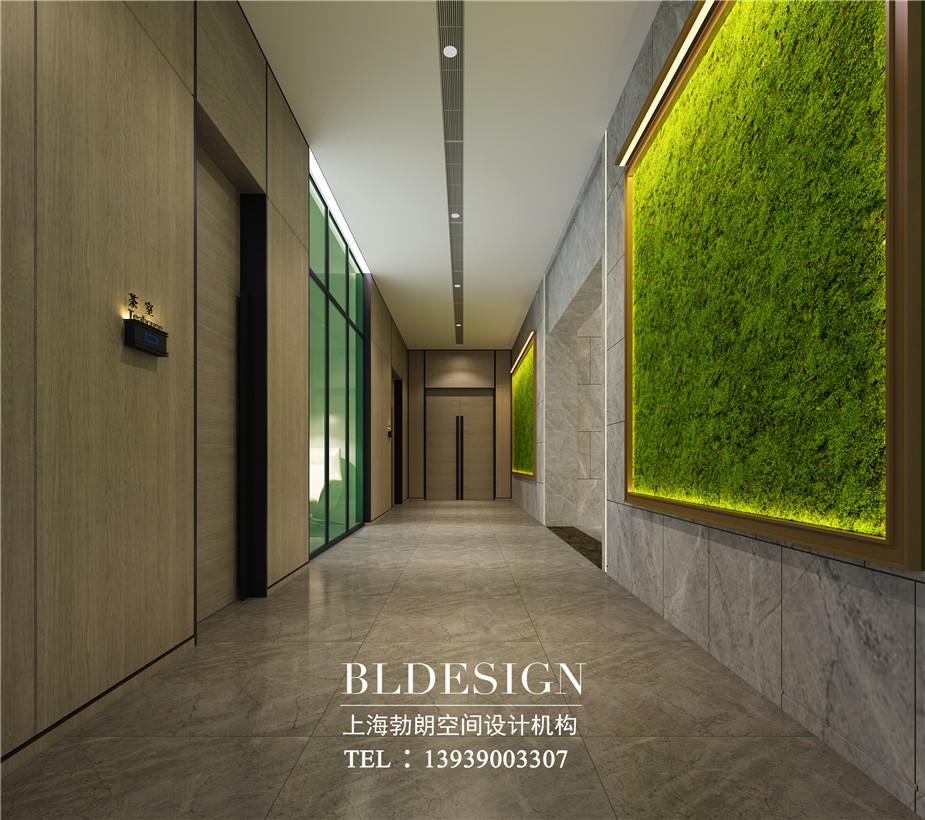 洛阳精品酒店走廊设计效果图