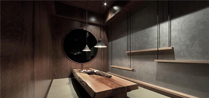 日式禅风餐饮空间设计案例学平面设计好一点会计还是图片