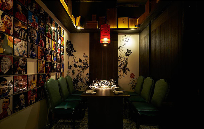 做餐厅设计说明。想找一些带中国风的说辞 主要形容一些餐厅局部装修的成语说辞 主要是带中国风