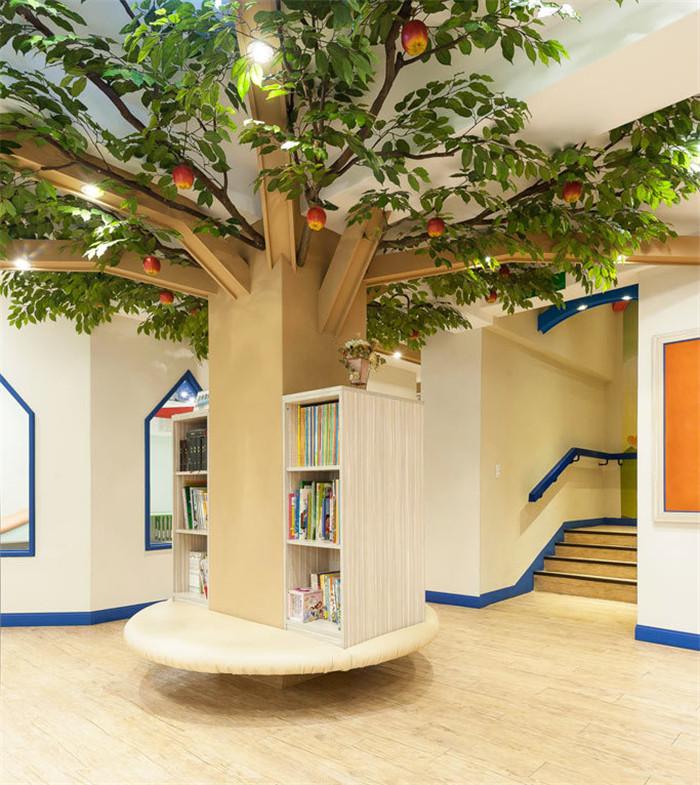郑州不错的幼儿园设计公司分享伊甸园主题幼儿空间设计