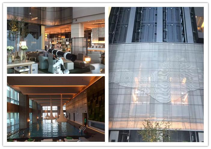 酒店的建筑由迪拜塔设计大师艾德里安·史密斯亲自担纲,而室内设计及