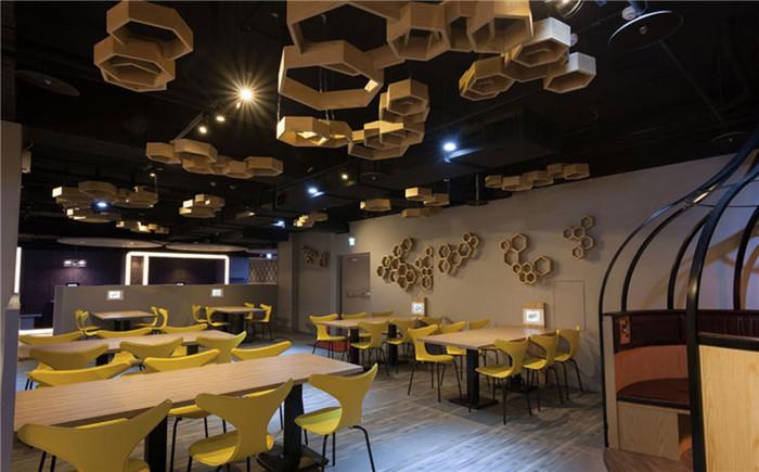 前卫时尚餐饮空间设计案例