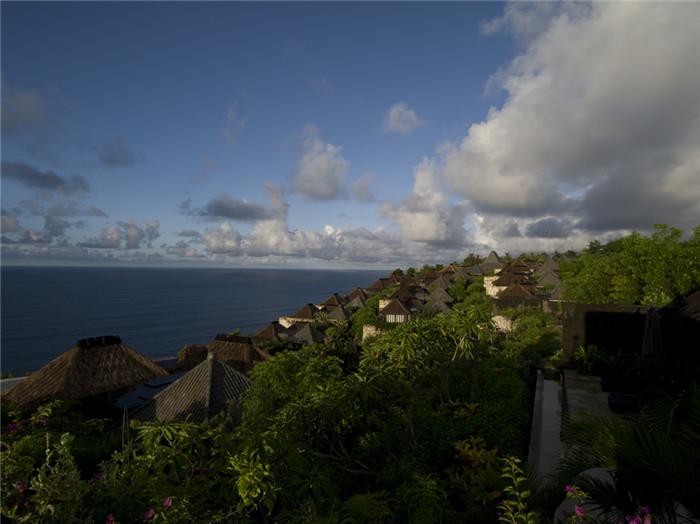 巴厘岛宝格丽酒店设计鸟瞰图