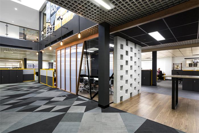 郑州办公室设计小编分享墨尔本工业风办公室设计案例