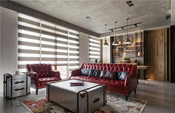 勃朗别墅设计专家分享精品工业风大平层别墅装修设计方案