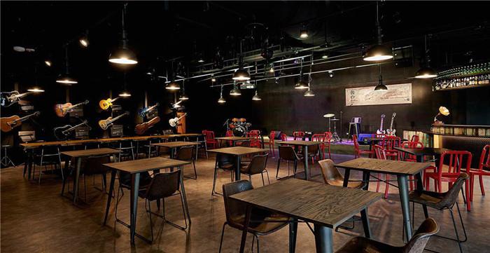 --工业风主题摇滚酒吧爱心咖啡厅v工业案例餐厅屋室内设计图片