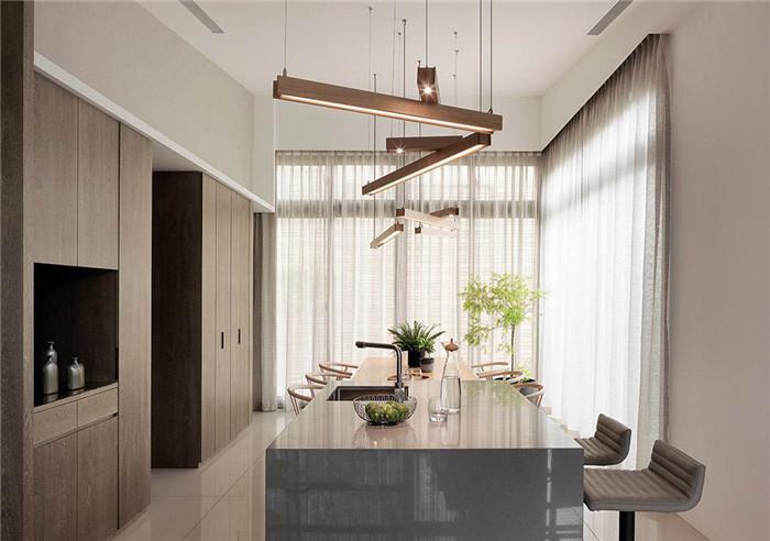 家族世代传承的四层独栋现代风格别墅装修设计案例