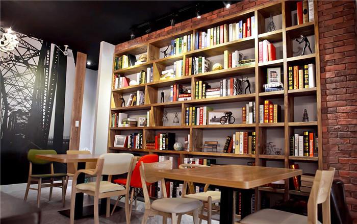 餐厅书架设计效果图