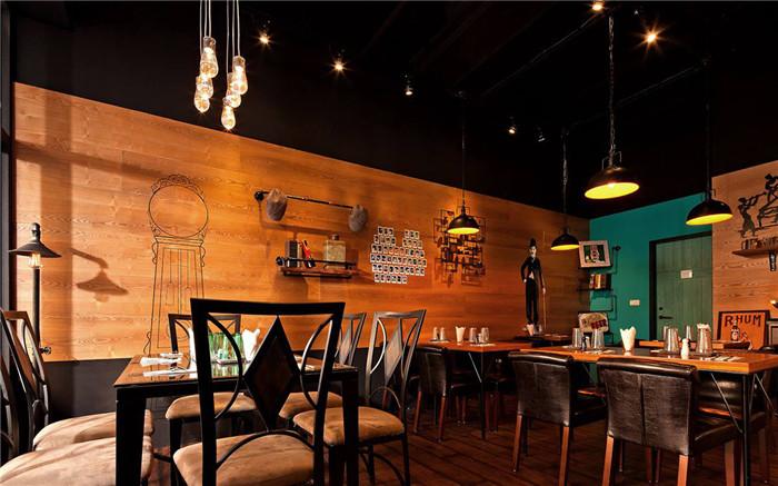 怀旧风主题餐厅装修设计案例