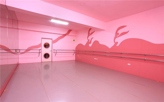 郑州勃朗幼儿空间设计公司分享舞蹈培训学校设计案例