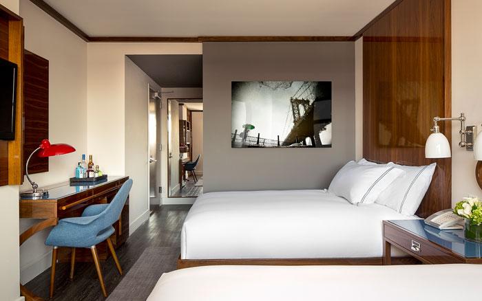 hotel hugo精品酒店客房設計效果圖
