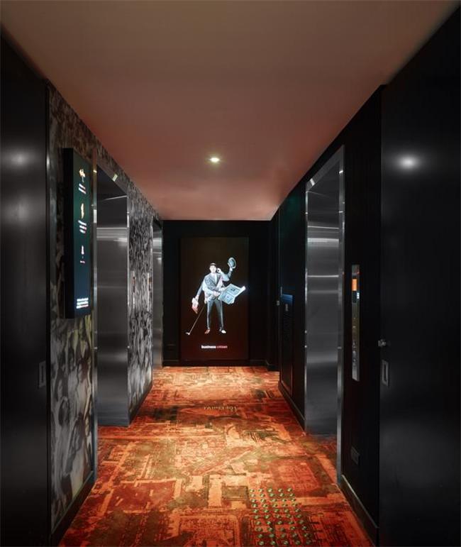 台北citizenm酒店客房走廊设计图
