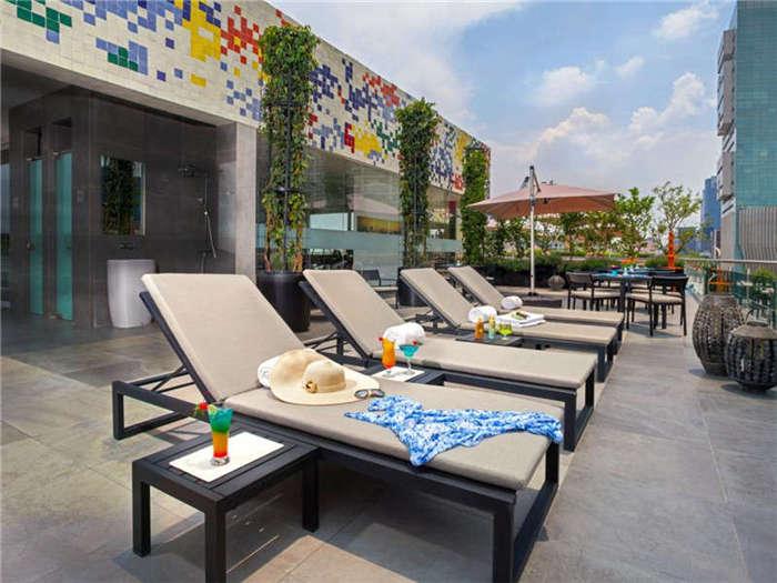 酒店室外休闲空间设计欣赏