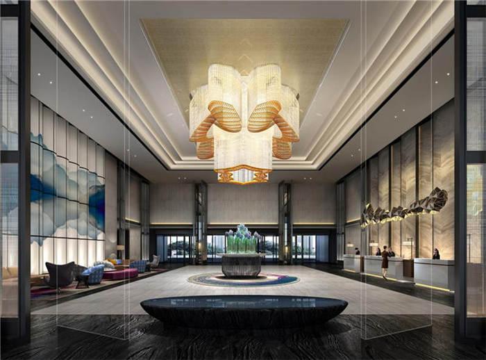 酒店大堂局部空间设计案例