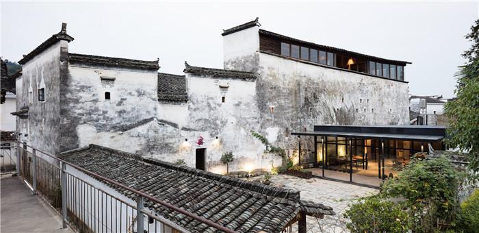 特色民宿酒店设计推荐  徽派老式建筑变身酒店
