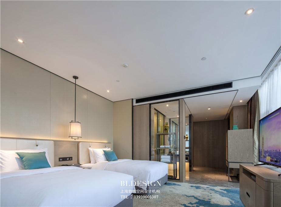 铭汇文华高端商务酒店客房装修设计实景图